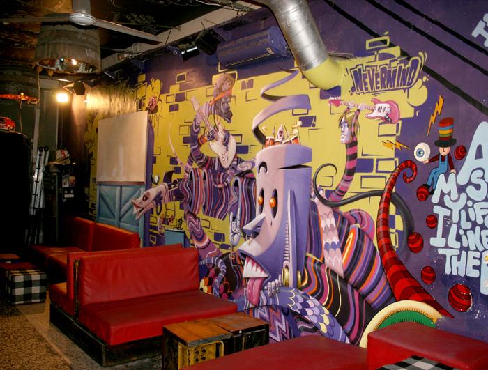 Nevermind bar - Decoracion de bares de copas ...